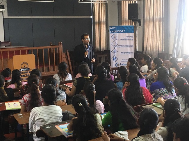 Session on 'All about MBA and career options after MBA'