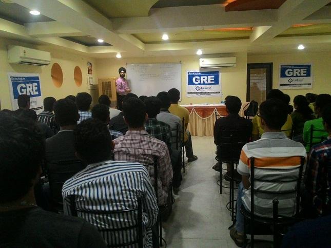 GRE Seminar at VVN Centre by Ajit Sir