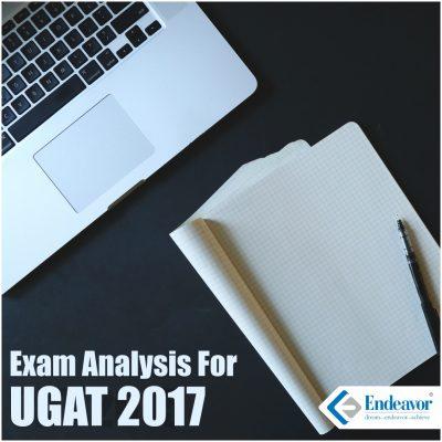 Exam Analysis UGAT 2017