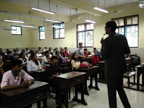 Seminar at Sydenham College of Commerce and Economics