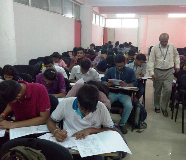 Aptitude Test at Datta Meghe College of Engineering