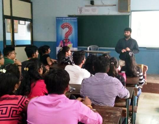 Seminar on 'How to crack an Aptitude Test'