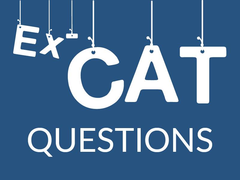 Ex-CAT Questions