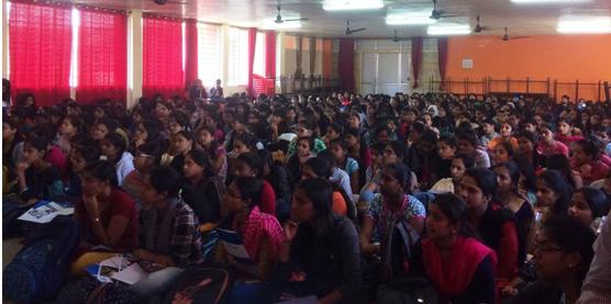 Workshop at Jyoti Nivas College