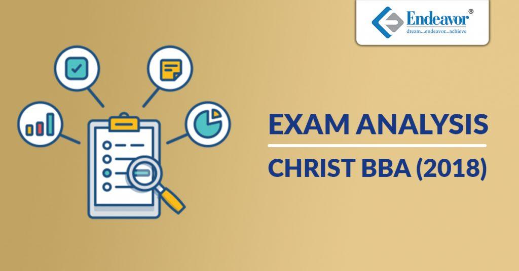 CHRIST BBA Entrance Test Analysis - 2018