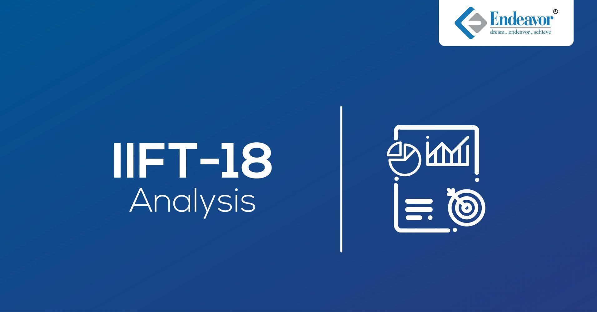 IIFT 2018 Analysis