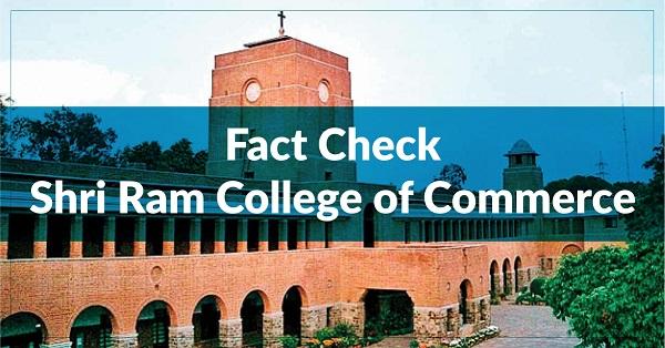 Shri Ram College of Commerce
