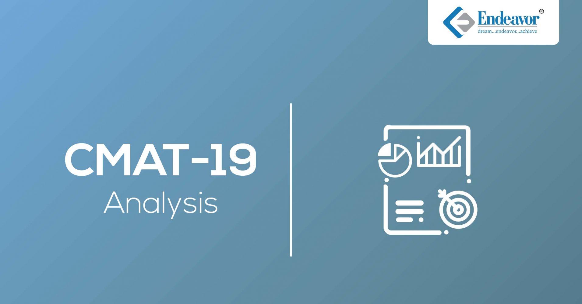 CMAT 2019 Analysis