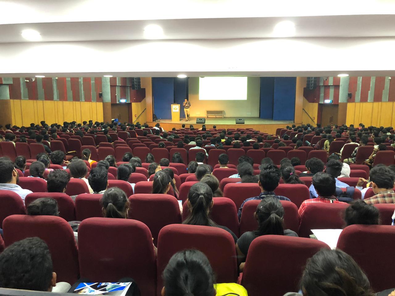 Workshop at St. Joseph's College