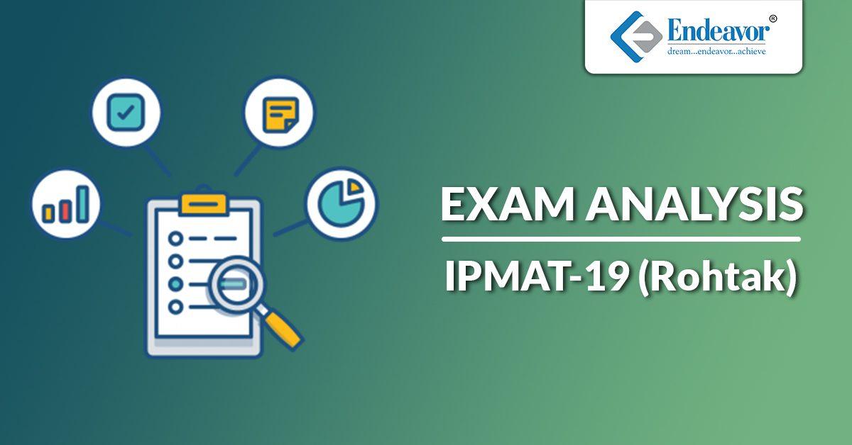 IPMAT 2019 Exam Analysis