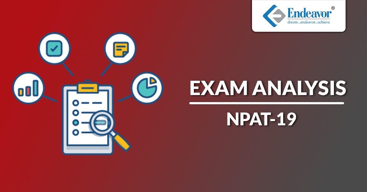 NPAT 2019 Exam Analysis