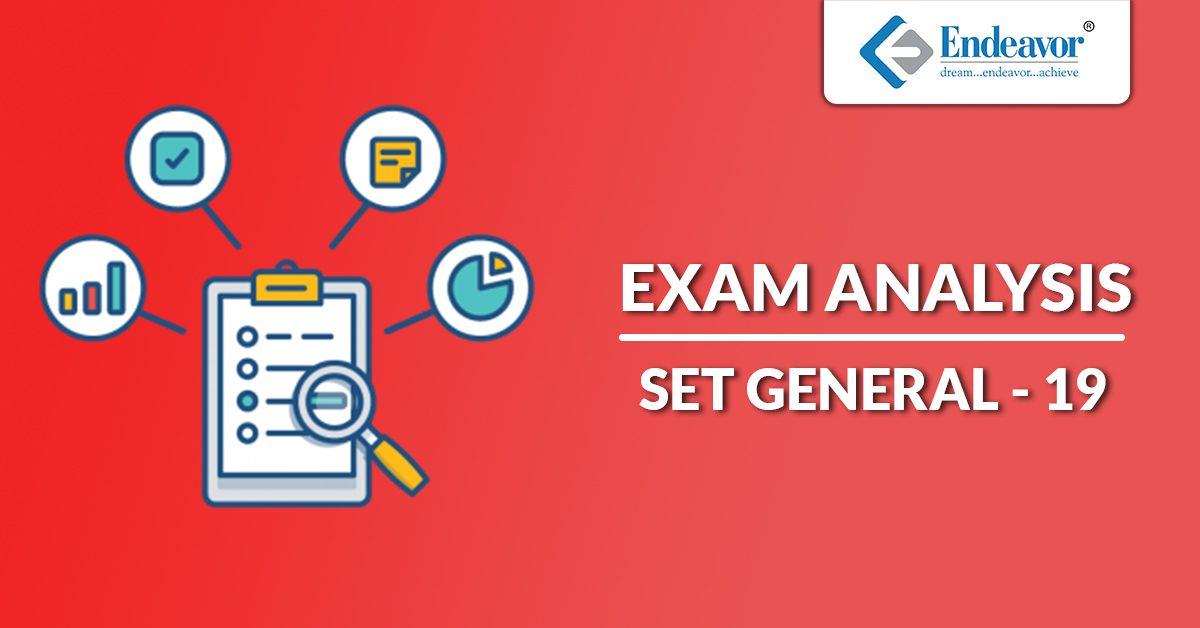SET 2019 Exam Analysis