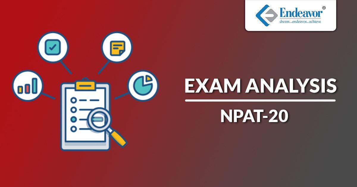 NPAT 2020 Exam Analysis