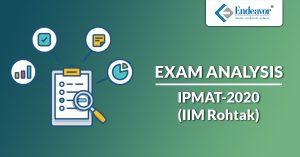 IPMAT 2020 Exam Analysis