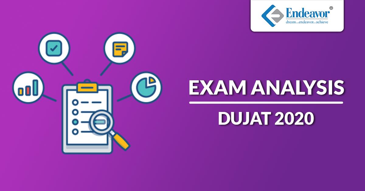 DU JAT 2020 Exam Analysis