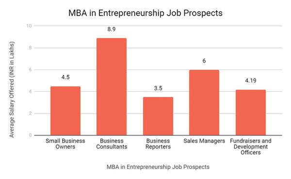 MBA in Entrepreneurship opportunities