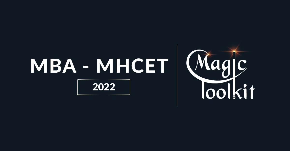 MHCET 2022 Magic Toolkit