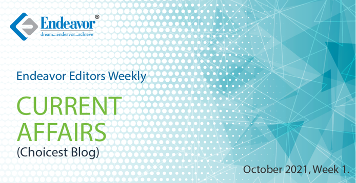 Weekly Blog October Week 1